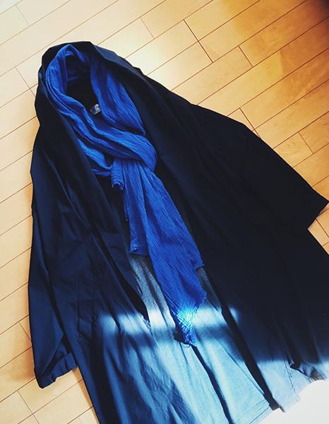 青木沙織里さんのコート