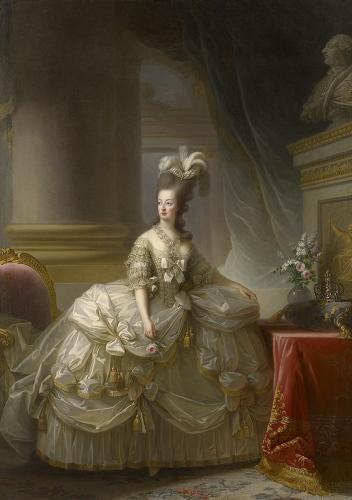 マリー・ルイーズ・エリザベト・ヴィジェ=ルブラン《フランス王妃マリー・アントワネットの肖像》