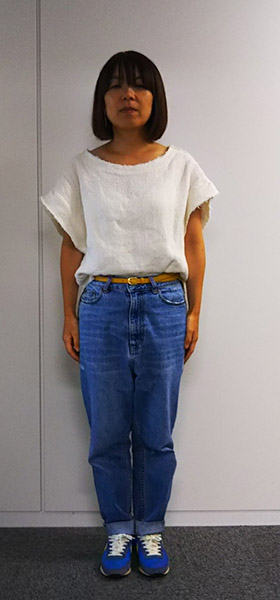 低身長ファッション