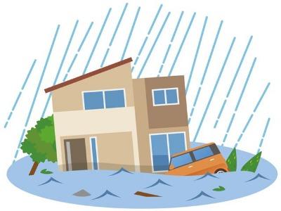 地震の次は水害が心配になってきた…