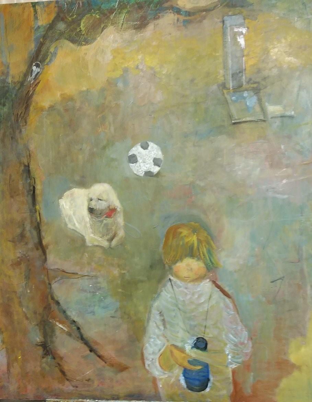 少女の絵2
