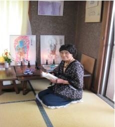 ご先祖様の地蔵菩薩様の写仏