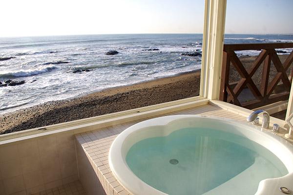 日野治旅館の別邸にあるお風呂