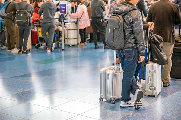 LCCに乗るなら荷物をスリムに! 時間の余裕をもって空港に!