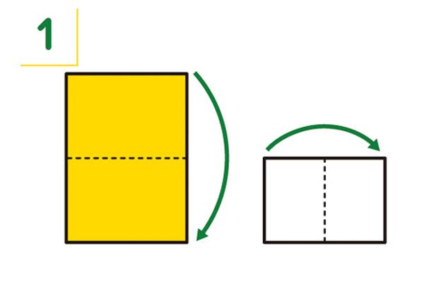 紙皿の折り方1
