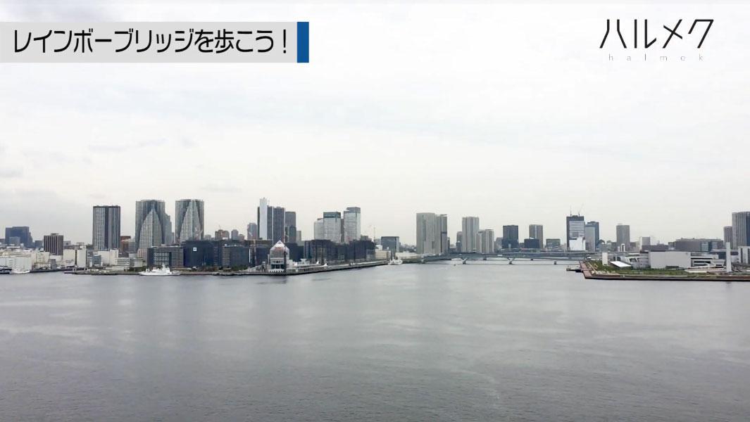 東京湾の景色