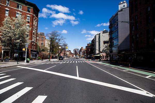 4月2日時点のニューヨーク(shutterstock)