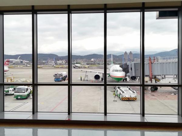 台北市内にありアクセスが便利な松山空港