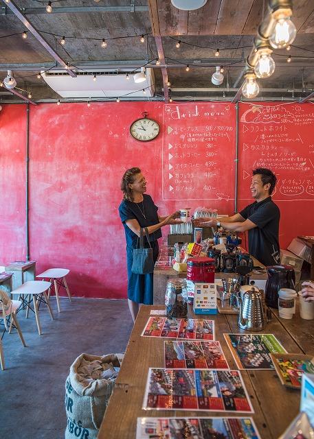 コーヒー店「ミルトンコーヒーロースタリー」