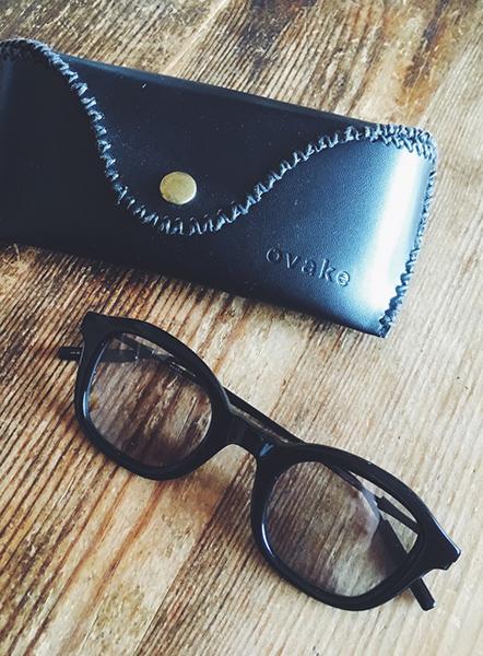 日本のアイウェアブランド「ovake(オヴェイク)」で購入したサングラス