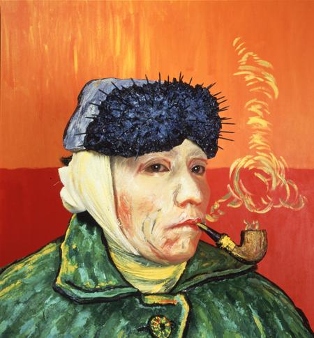 森村泰昌≪肖像(ゴッホ)≫1985年 高松市美術館蔵