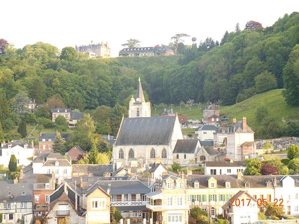 別荘・お城・教会等の街並み