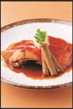 伊豆といえば金目鯛の煮付けも外せないメニューの一つー赤沢日帰り温泉館